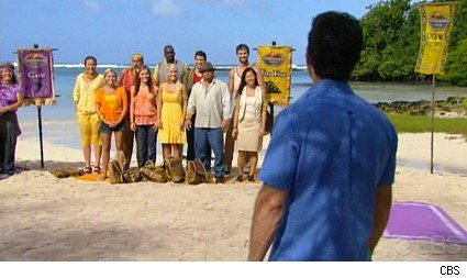 It's the premiere of Survivor Samoa!