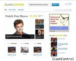 SlashControl home page
