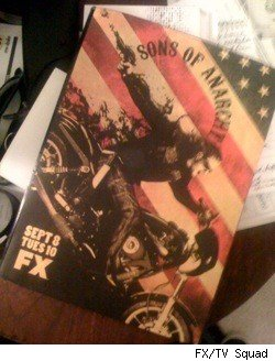 The cover of the Sons of Anarchy press kit