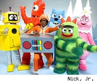 Yo Gabba Gabba! and its colorful cast are returning to entertain (and maybe scare) little kids.