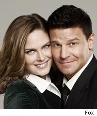 Brennan and Booth on Bones