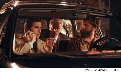 Jason Schwartzman, Ted Danson, and Zach Galifianakis