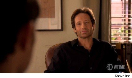 David Duchovny as Hank Moody on Californication
