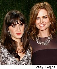 Zoey and Emily Deschanel