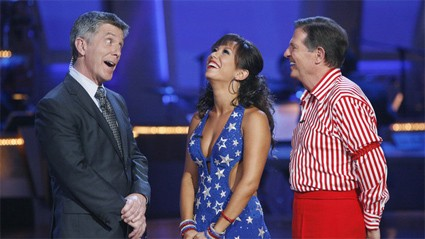 Cheryl Burke and Tom DeLay on Dancing with the Stars