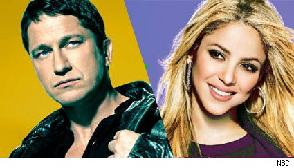 gerard butler and shakira