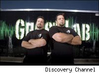 The Ghost Lab brothers found some weight gain powder and dumbbells, but no ghosts.
