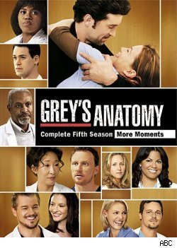 Grey's Anatomy, season five dvd