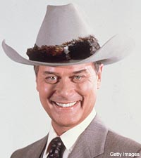 Larry Hagman in Dallas