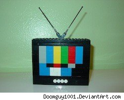 Lego TV by Doomguy1001 at DeviantArt