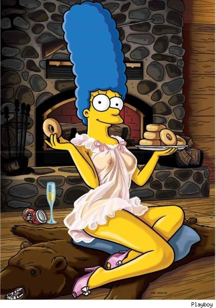 Nude Marge Simpson