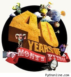 Monty Python's 40th anniversary