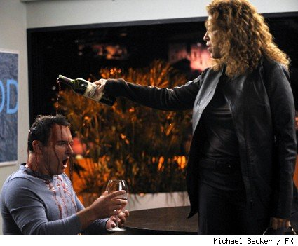 Julian McMahon as Dr.Christian Troy and Roma Maffia as Dr. Liz Cruz