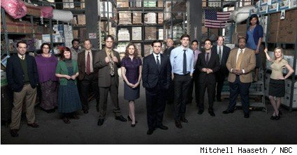 The cast of NBC's 'The Office.'
