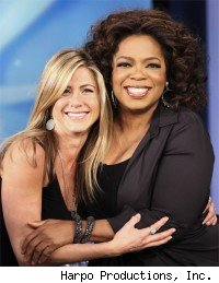 Jennifer Aniston & Oprah Winfrey