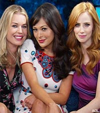 'Eastwick' outside the Box - Rebecca Romijn, Lindsay Price, and Jaime Ray Newman Interview Each Other Using Your Questions