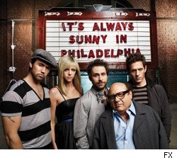 The cast of FX's 'It's Always Sunny in Philadelphia.'
