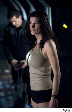 Stargate Universe: Darkness, Julia Anderson as Sgt. Vanessa James