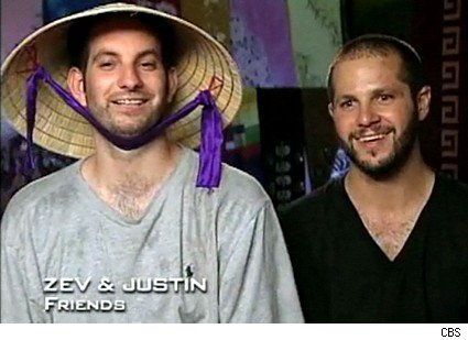 Zev and Justin in Vietnam - The Amazing Race 15