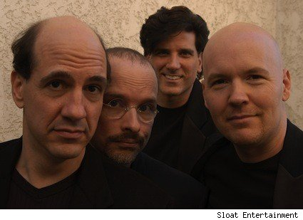 The Blanks' Sam Lloyd, Paul F. Perry, George Miserlis and Philip McNiven, aka that band from Scrubs