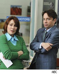 The Middle, Patricia Heaton & Chris Kattan