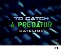 Chris Hansen meets Roman Polanski on a fictional version of To Catch a Predator.