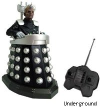 The radio controlled Davros toy is out to conquer Christmas.