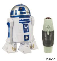 The Remote Control R2-D2 should help your kids scare the cat this holiday.