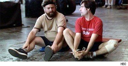 Zach Galifianakis and Jason Schwartzman