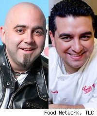 Duff Goldman, Ace of Cakes, and Buddy Valastro, Cake Boss