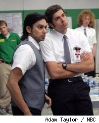 Vik Sahay and Zach Levi in Chuck