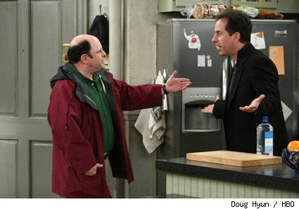 Jason Alexander and Jerry Seinfeld