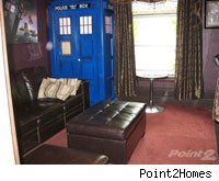 A house in Canada ia perfect for Doctor Who fans.