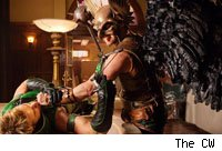 Hawkman vs. Green Arrow