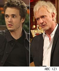 Jonathan Jackson and Anthony Geary