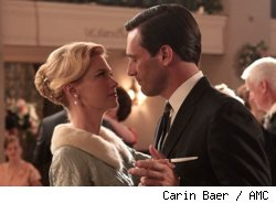 Betty Draper and Don Draper in The Grown Ups Mad Men Season 3