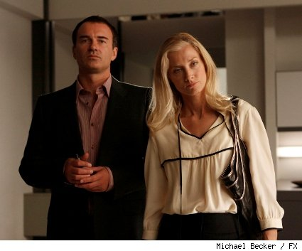 Julian McMahon and Joely Richardson