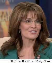 Palin garnered high ratings for 'Oprah.'