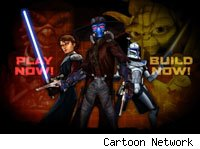 Cartoon Network's Clone Wars Video Game Creator lets fans design their own games.