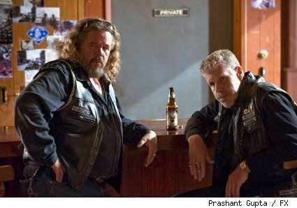 Mark Boone Junior and Ron Perlman