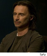 Stargate Universe: Robert Carlyle as Dr. Rush