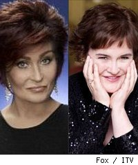 Susan Boyle and Sharon Osbourne