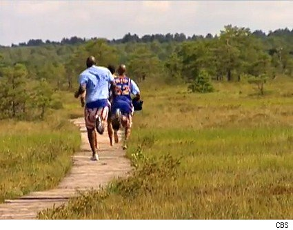 The brothers and the Globetrotters sprint through the bog