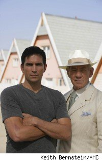 Jim Caviezel and Ian McKellan, The Prisoner