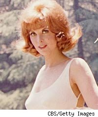 Tina Louise as Ginger on Gilligan's Island