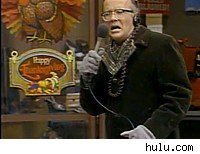 Oh, the humanity! Les Nessman reports on the turkey drop