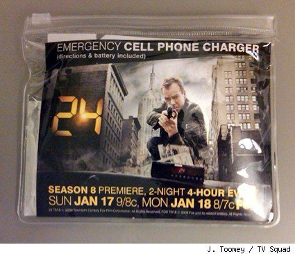 24: Cell Phone Charger package
