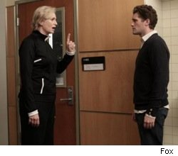 glee_jane_lynch_michael_morrison