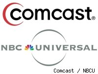 Comcast and NBC Universal logos
