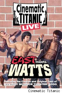 East Meets Watts is Cinematic Titanic's latest DVD.